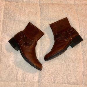 Clark's Brown Booties